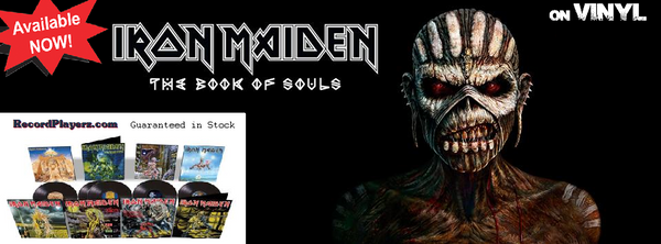 Iron Maiden Book of souls Lp set