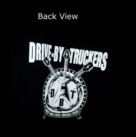 Drive By Truckers Black & White Shirt, Youth Large – Rock Band T-Shirt