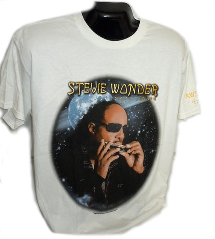 Stevie Wonder  T-Shirt, Rare 2014 Concert Tour Shirt