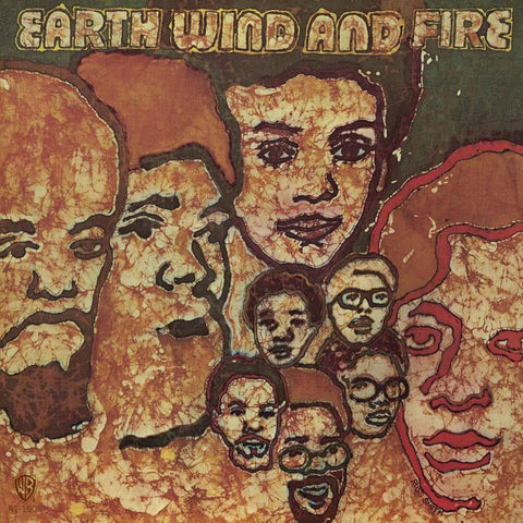 Earth, Wind, & Fire - 1971 - self-titled Debut Album / LP