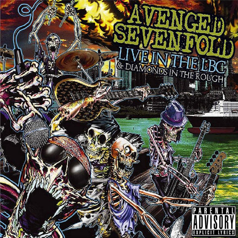 Avenged Sevenfold  Live in the LBC and Diamonds in the Rough - Vinyl LP
