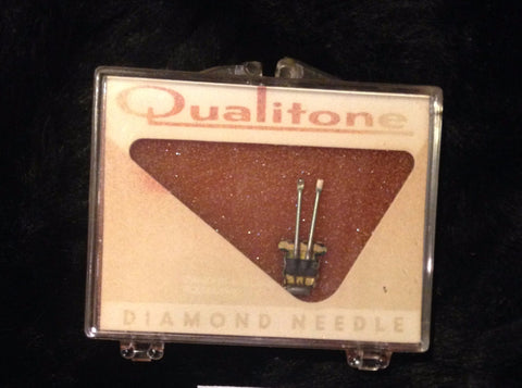 Qualitone 1620XDS Diamond Tip Needle / Stylus for Vintage Record Player / Turntable