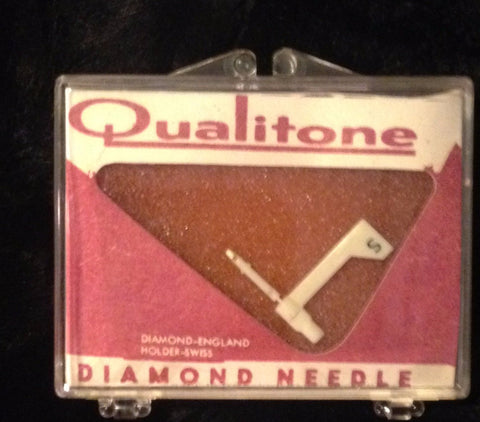 Qualitone 1631XDS Diamond Tip Stylus Record Player / Turntable