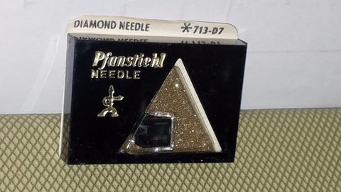 713-D7 Pfanstiehl Diamond needle for Fisher, Sanyo MG-14D Turntables z