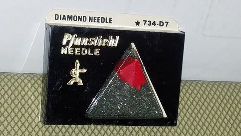 734-D7 Pfanstiehl Diamond needle for TOSHIBA  TURNTABLE N-64M C-6-4M  z
