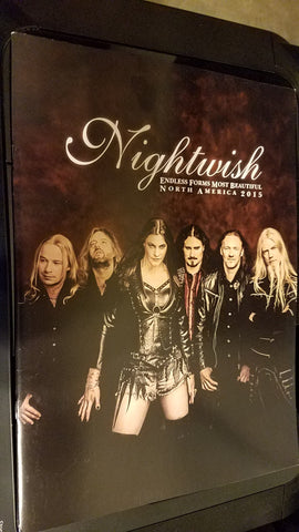 "Nightwish - Concert Tour Program 2015 ""Endless Forms Most Beautiful"" tour"