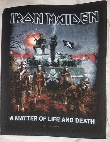 Iron Maiden Matter of Life & Death Back Patch / Large BackPatch