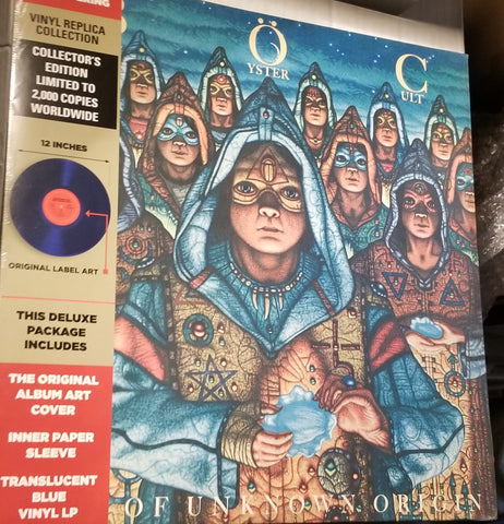 Blue oyster cult of unknown origins LP Colored vinyl Record 1 of 2,000
