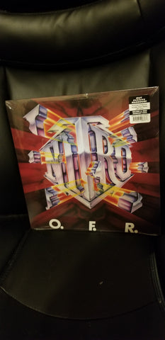 Nitro - OFC - NITRO - OFR -LP  colored vinyl  300 copies made  jim gillette - michael Angeli