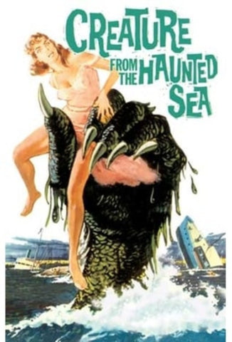 Creature from the Haunted Sea Movie Poster