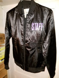 Justin Bieber Tour Jacket STAFF -  NEW