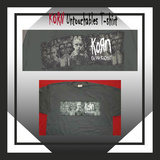 KORN Untouchables T-Shirt - Hard to Find Army Green Mens Officially Licensed