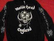 MOTORHEAD Men's Sweatshirt Rock Band Merchandise
