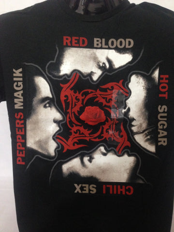 Red Hot Chili Peppers T-Shirt Officially Licensed  Rock Apparel  100% Cotton   Size Large