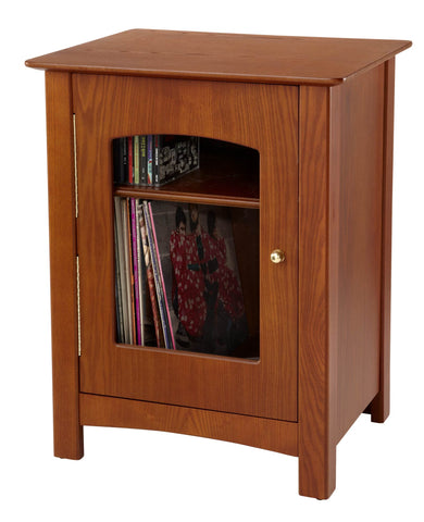 ST75-PA Crosley Bardstown Entertainment Center Stand - Paprika