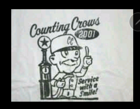 Counting Crows T- Shirt, XL Licensed Rock T-Shirt