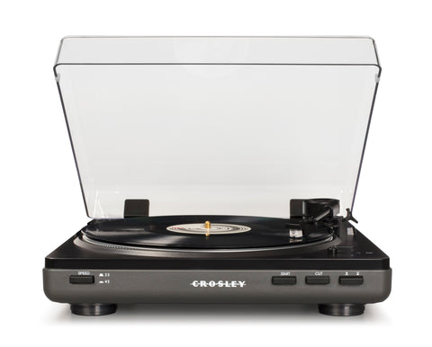 T400A-GY Crosley T400 Component Turntable - Gray