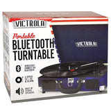 Victrola VSC-550BT 3-Speed Vintage Bluetooth Suitcase Turntable (USA Flag)