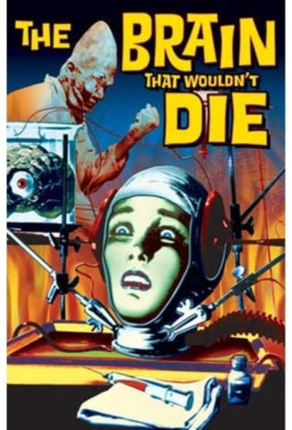 Brain That wouldnt Die Movie Poster