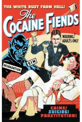 The Cocaine Fiends Movie Poster