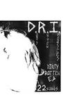 "D.R.I. - The Dirty Rotten Early 22 song E.P.  ""7 Record, Vinyl"