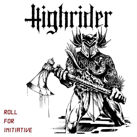 HIGHRIDER - Roll For Initiative LP - Limited edition w/ Download Vinyl Record