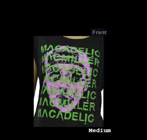 Mac Miller T-Shirt Rare N.O.S. Face Size Medium Officially Licensed Merchandise