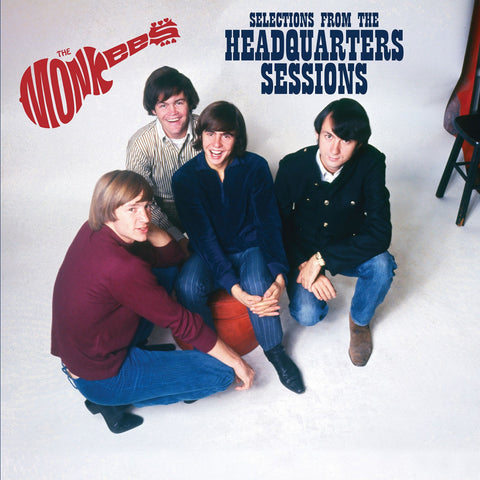 The Monkees Headquarters Sessions LP -  Red Colored Vinyl
