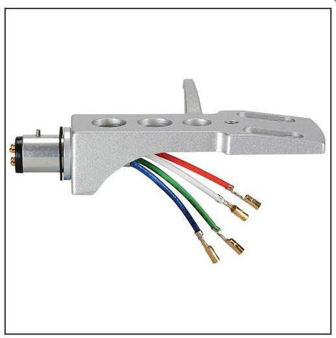 Needles & Cartridges - Replacement Phono Headshell  With Lead Wires For Turntable /  Record Player