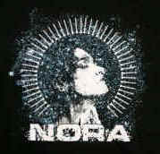 Nora  Shirt, XXL, Face Graphic, 2XL Licensed Rock Band T-Shirt