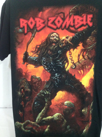 Rob Zombie - Warrior -Rock T-shirt 3XL, 2XL,