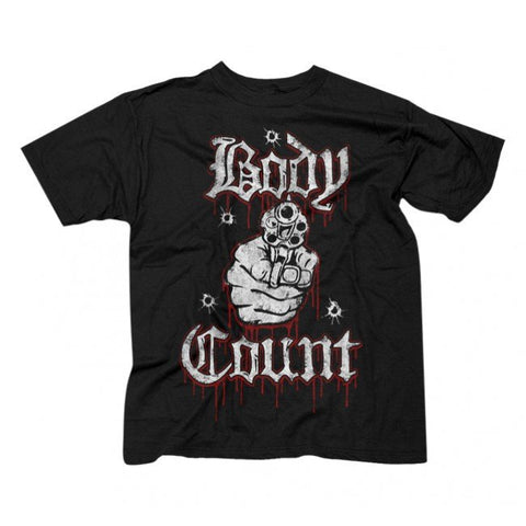 Rock T-Shirts - BODY COUNT T-Shirt Ice-T Rap Rock / Metal Officially Licensed Apparel