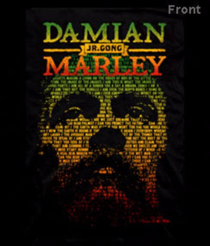 Rock T-Shirts - Damian Marley Self Portrait / Jr Gong T-Shirt Officially Licensed Tee Small