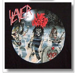 SLAYER - Live Undead - T-Shirt Official Band Merchandise M, L. XL, 2XL