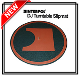 Interpol DJ Slipmat for Turntable Record Player
