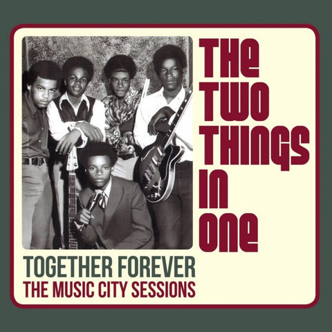 Two Things In one- Together Forever - LP VINYL The music city sessions