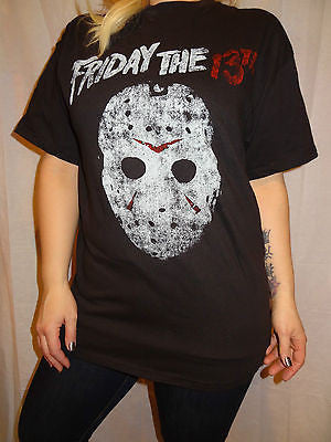 Friday the 13th Mens T-shirt Jason Hockey Mask