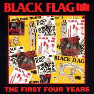 Black Flag - First Four Years / Singles (LP)
