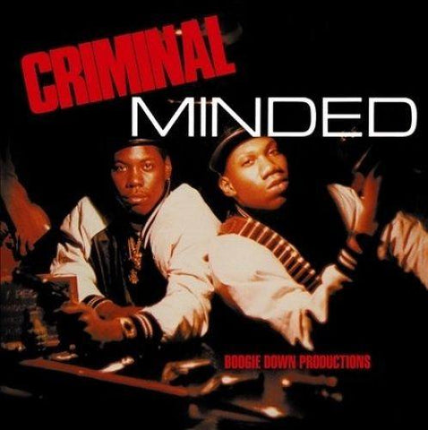 Vinyl-Records - Boogie Down Productions - Criminal Minded  (2 PC) (LP)