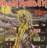 Iron Maiden -Killers  LP Record Album On Vinyl