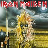 Vinyl-Records - Iron Maiden -S/T Debut Album LP Record On Vinyl