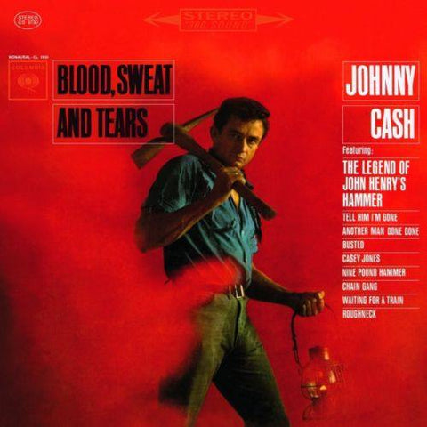 Vinyl-Records - Johnny Cash ‎- Blood, Sweat And Tears - LP