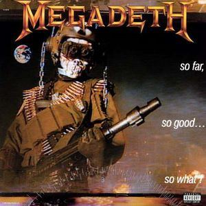 Megadeth - So Far So Good: So What - LP