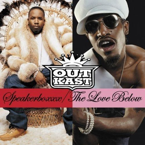 Outkast - Speakerboxxx: Love Below- 4 LP