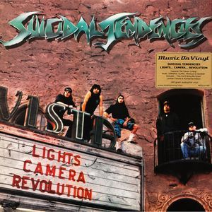 Suicidal Tendencies - Lights Camera Revolution - LP
