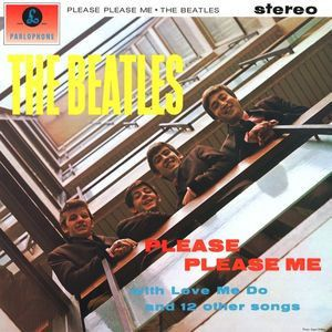 The Beatles - Please Please Me LP Record Album On Vinyl