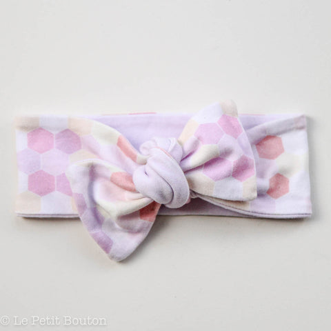"Organic Reversible Bow Knot ""Asher"" Headband"