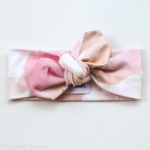 "Organic Top Knot ""Chanel"" Headband"