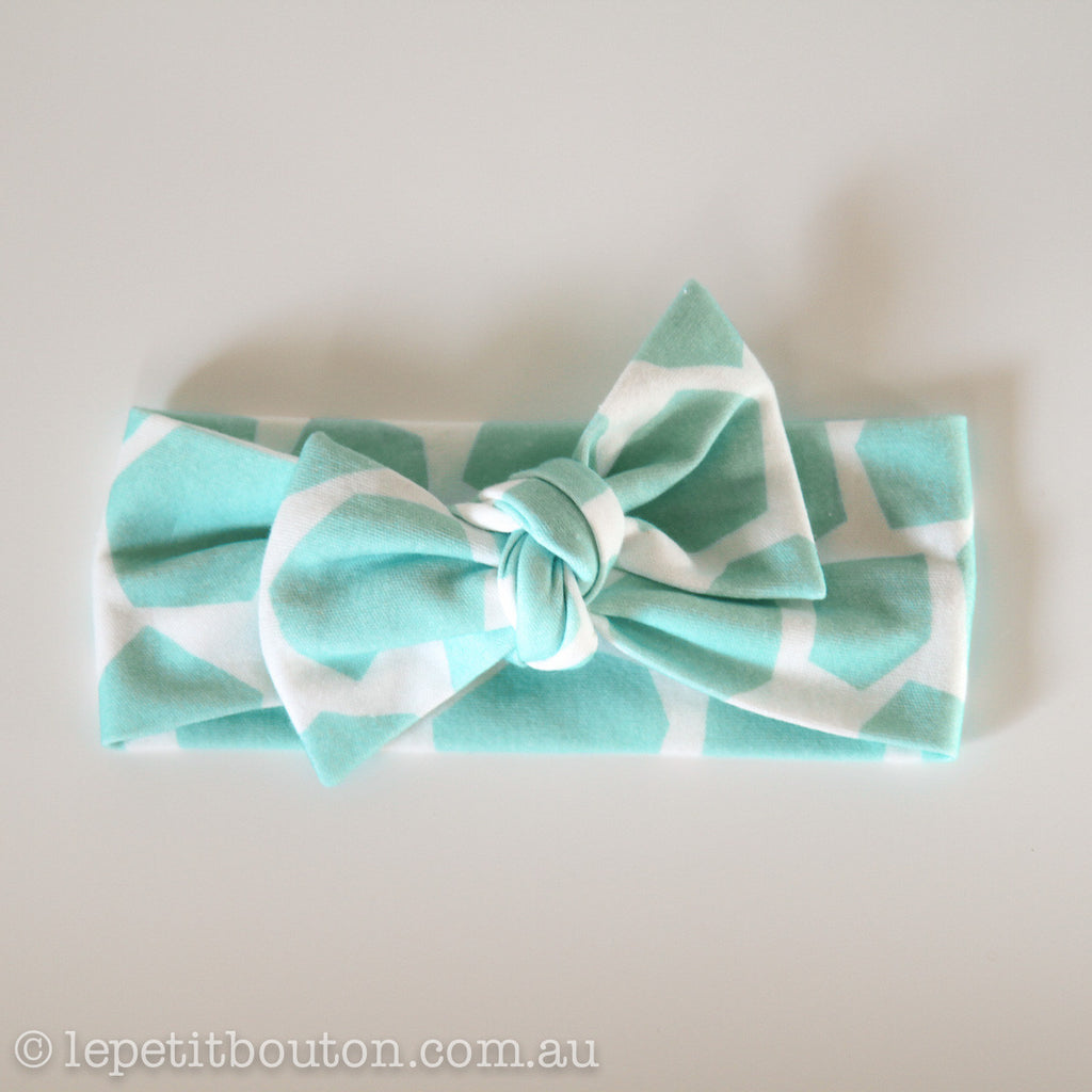 "Organic Bow Knot ""Tiffany"" Headband"