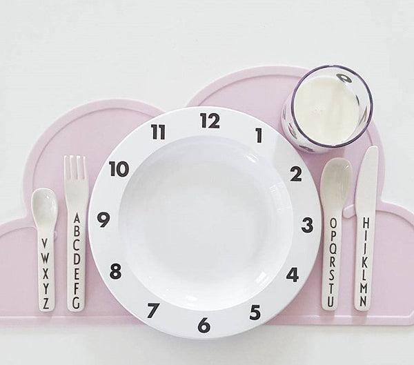 Cloud Silicone Placemat - Pink